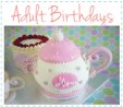 adult birthday cakes