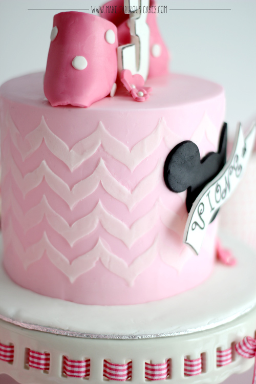 Cake Minnie Mouse Template : Vintage Minnie Mouse Cake