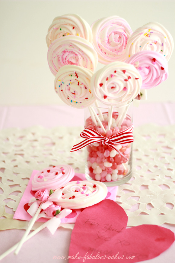Meringue Pops Bouquet