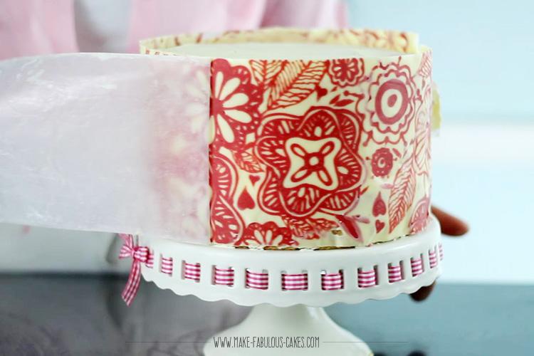 Chocolate Cake Wrap Tutorial