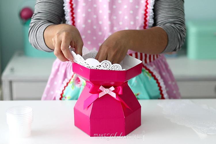 cupcake bouquet box