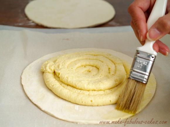 galette des rois almond cream