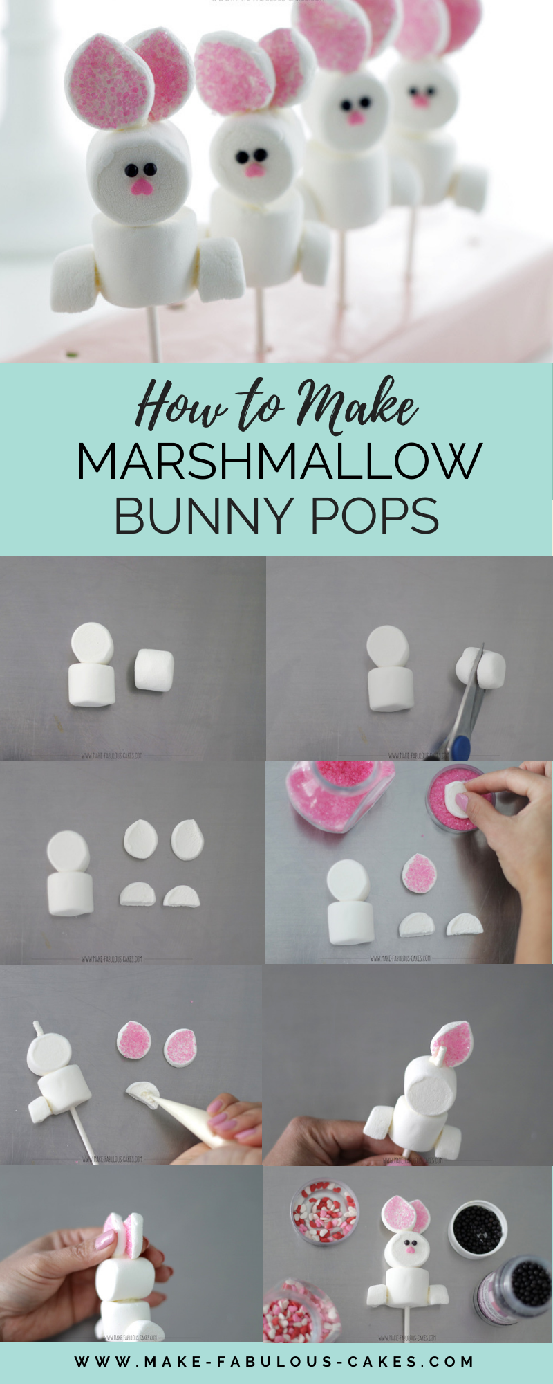 Marshmallow Bunnies Tutorial