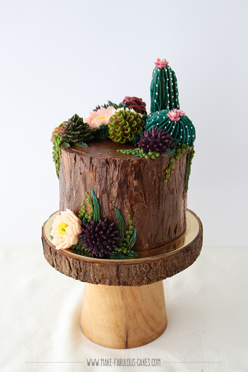 How to Make Buttercream Succulents Online Class