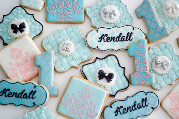 Breakfast At Tiffany's cookies