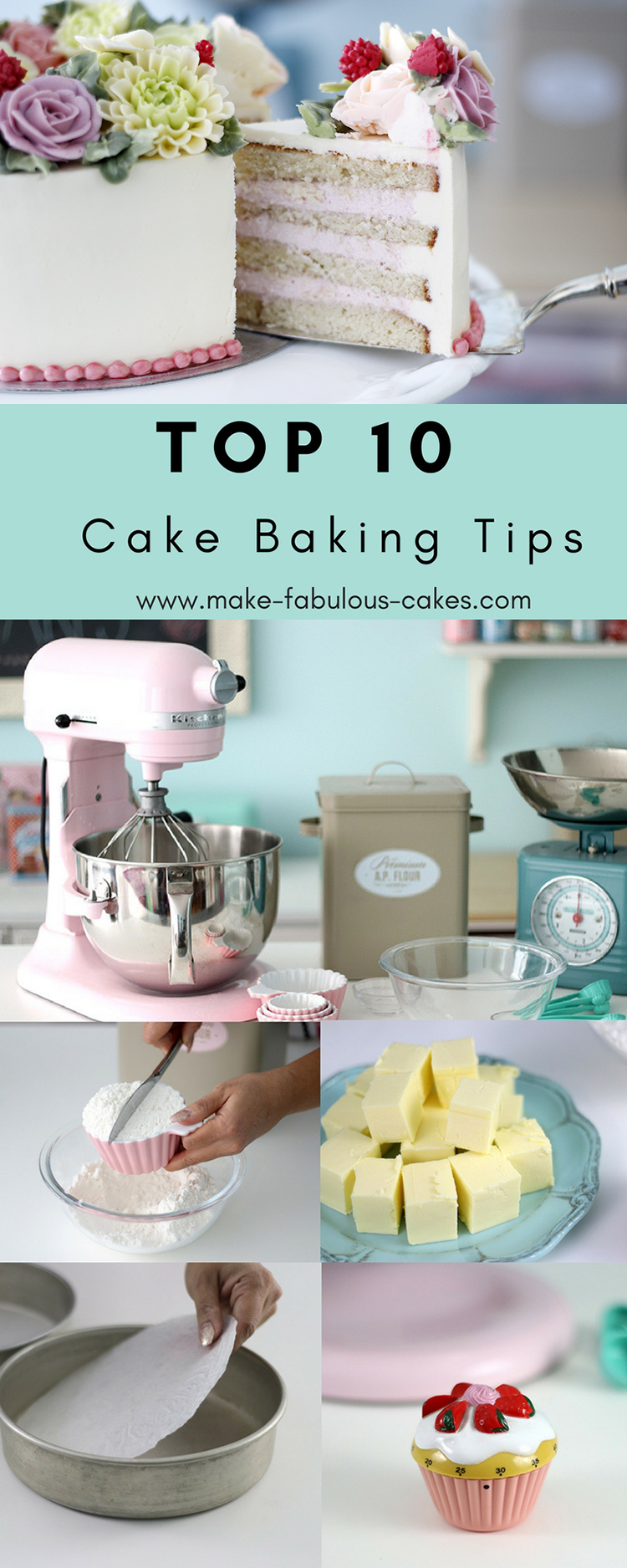 Top 10 Cake Baking Tips