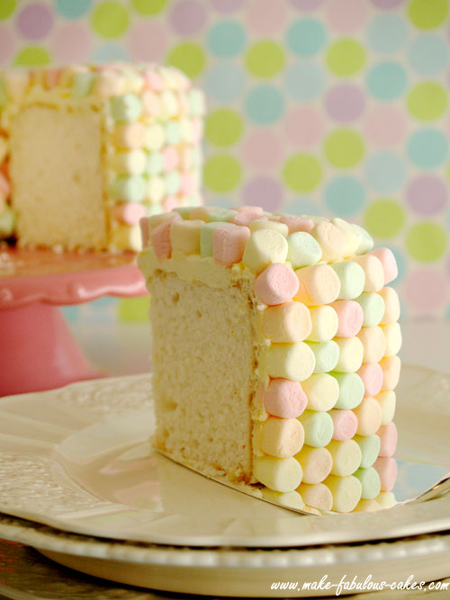 Dress Up Angel Food Cake