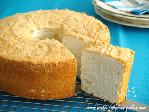Sponge Cake Angel Food Cake