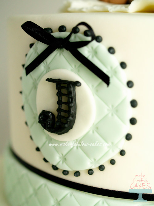 Royal Icing monogram