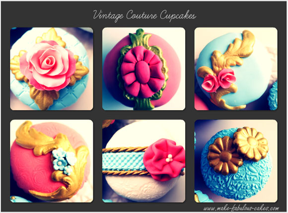couture cupcake collection