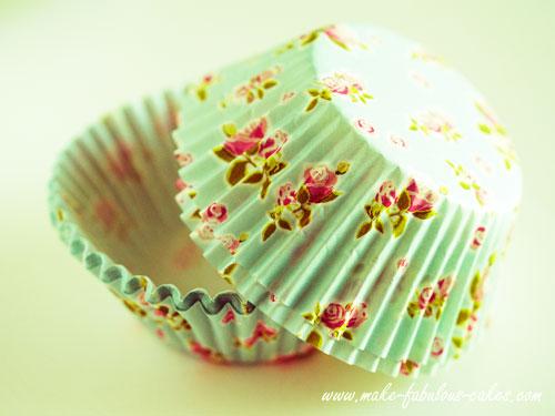 vintage cupcake liners
