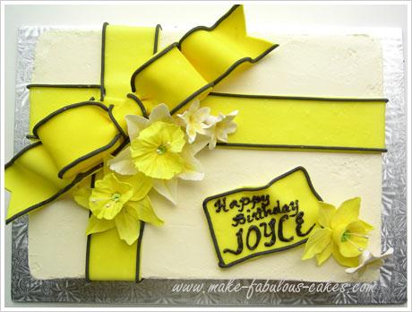 daffodil cake recipe