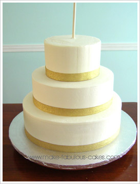 Stacking  Cake Layers