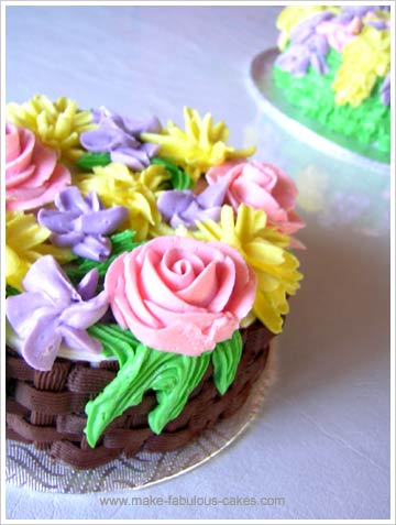tortas de flor