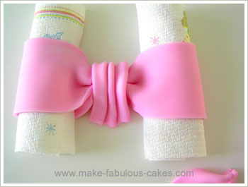 how to make fondant bow