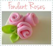 fondant ribbon roses