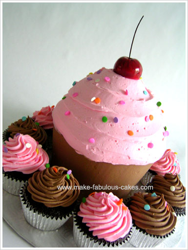 Cupcake : easy giant cupcake decorating ideas - www.pureclipart.com