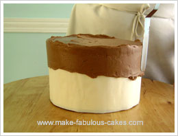 gift box cake tutorial