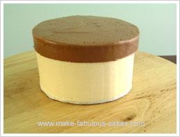Easy Gift Box Cake Tutorial