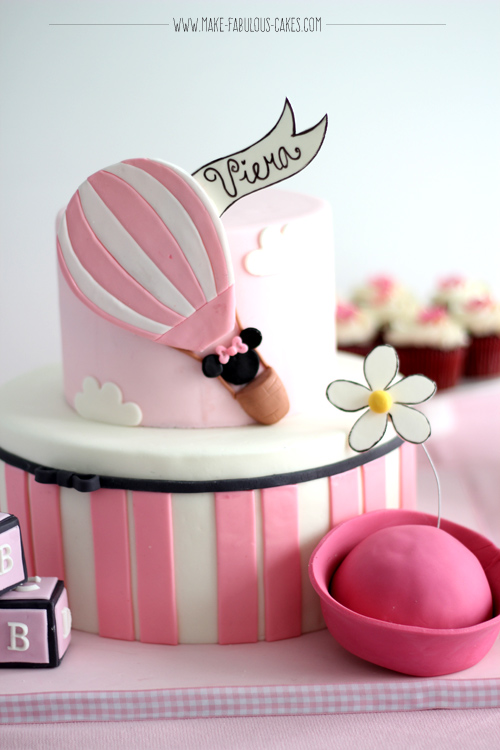 Vintage Minnie Mouse Cake