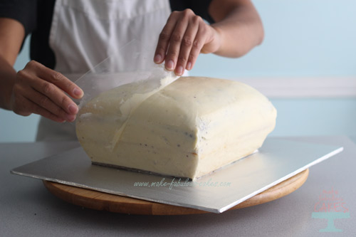 How to make a pillow cake