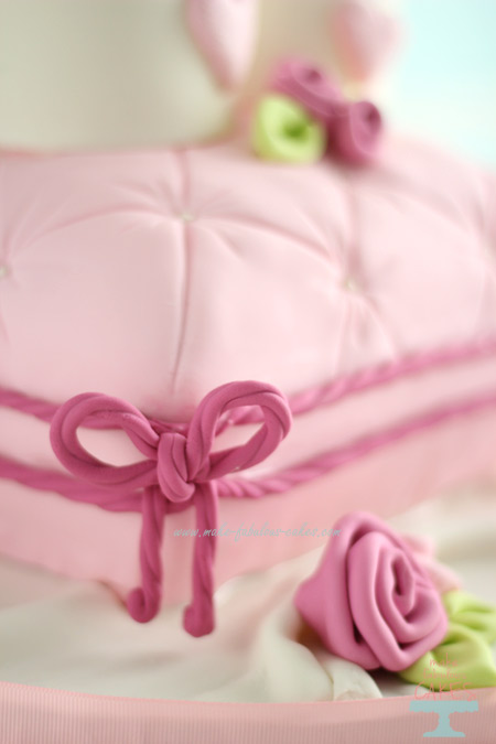 Mommy and baby Princess Crown cake How to make a Pillow cake