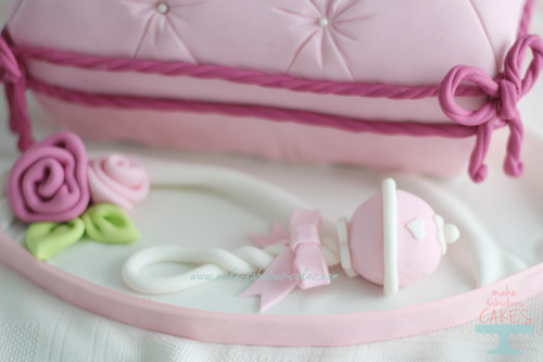 How to make fondant baby rattle