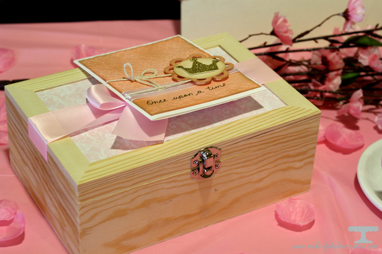 princess tea party invitation