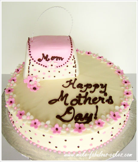 Best Cake Designs For Mother : Mother s Day Cake - Purses for Mom