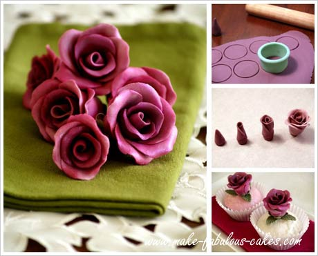 sugar roses how to