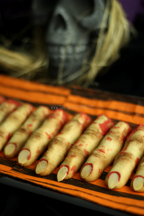 Zombie Finger Cookies