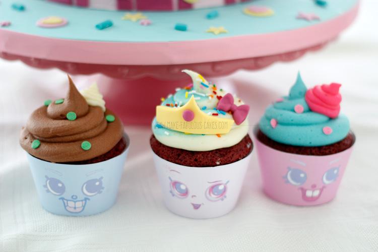 Shopkins cupcakes