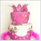 Pink Mad Hatter Cake