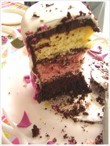 birthday cake slices gif