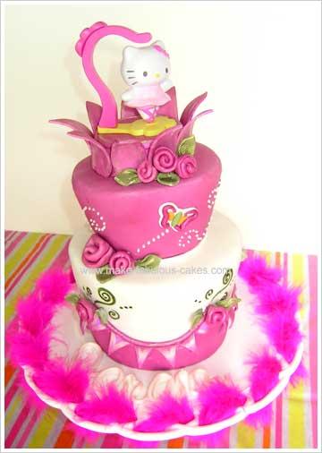 whimsical cake