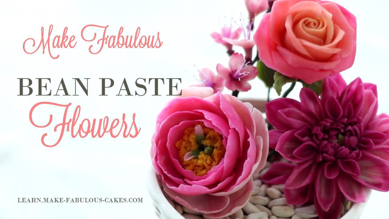 Beanpaste Flowers Class