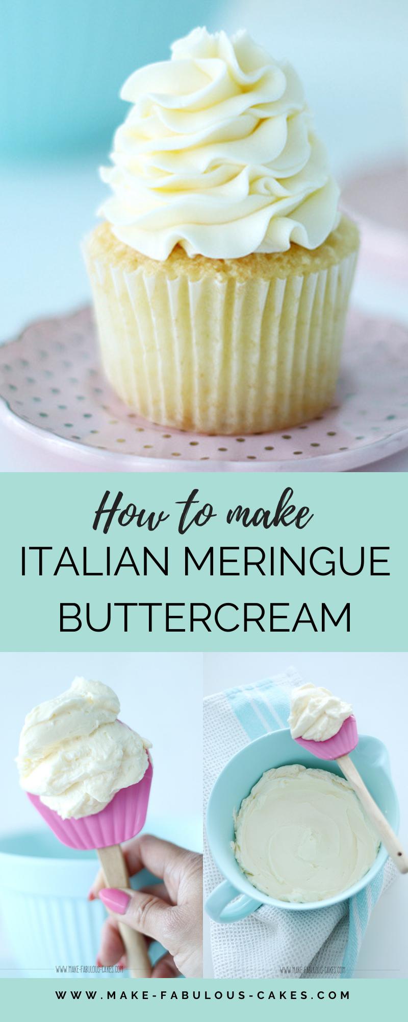 How to make Italian Meringue Buttercream