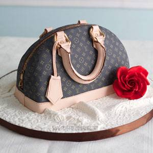 Designer Handbag Cake Tutorial