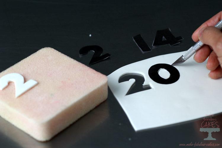 cut out gum paste