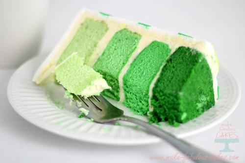 Lime Cake Slice