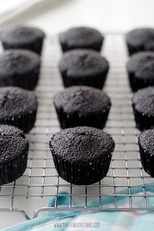 black cocoa cupcakes recipe
