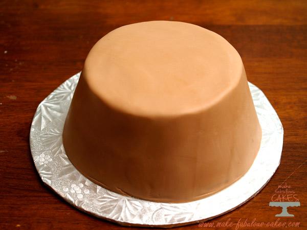 giant cupcake cake tutorial
