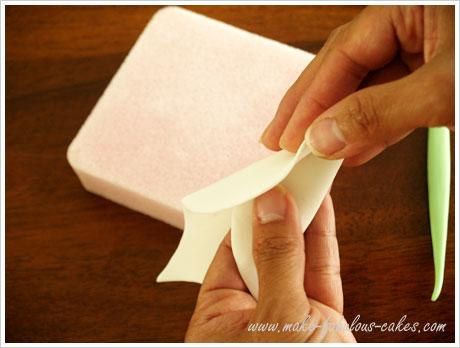 gum paste calla lily