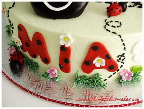ladybug cake pictures