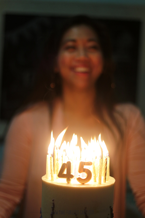 45 birthday candles