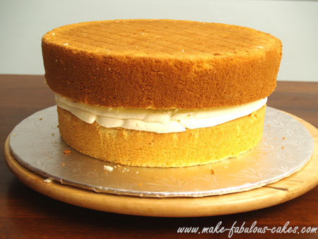 tapered cake