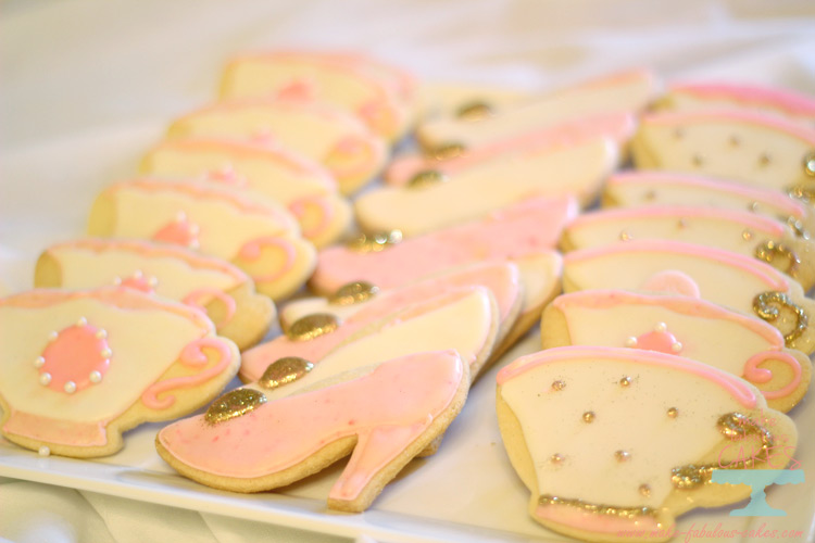 princess tea party cookies