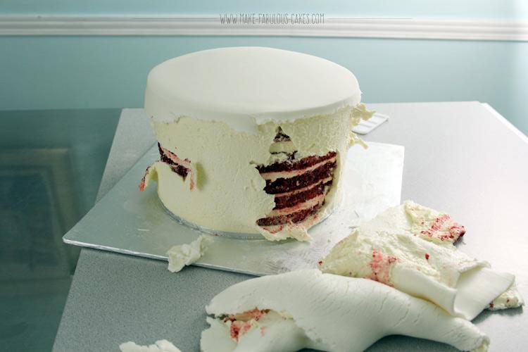 cake air bubble fail