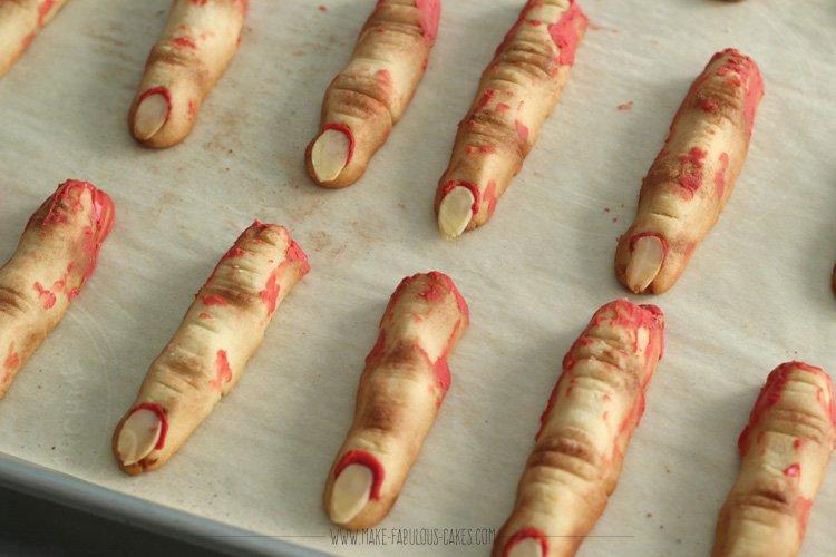 finger cookie recipe
