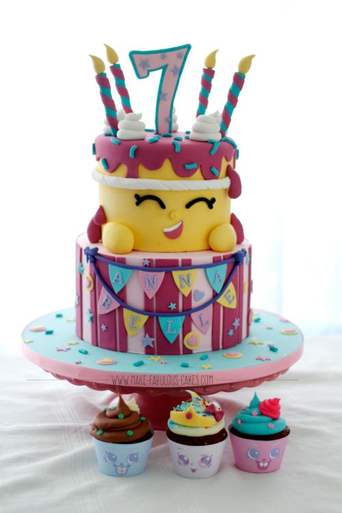 Shopkins Cake